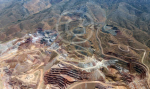Aerial Mining View Nevada Photography for Hire