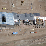 construction aerial progression