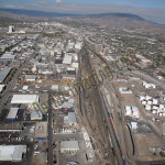 sparks NV aerial photography image