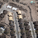 Reno Production Homes Aerial
