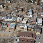 Virginia City, NV aerial photography image