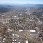 carson city NV aerial photography image
