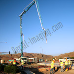 Construction crane photography image