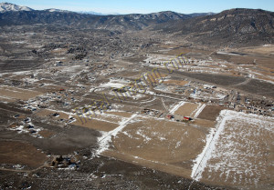 ely nevada aerial photography image