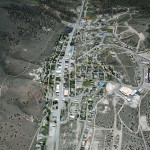 Eureka Nevada aerial photography image