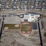 fernley school nv aerial photography image