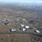 Fernley, NV aerial photography image