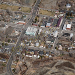 minden NV aerial photography image