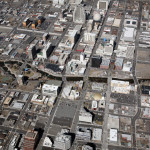 Reno Downtown aerial view 2013