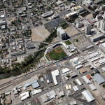 Reno Aces ballpark aerial photography image 2010