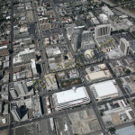reno downtown building aerial photography image