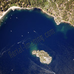 emerald bay tahoe aerial photography image