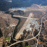 truckee airport aerial photography image