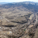 verdi nevada aerial photography image