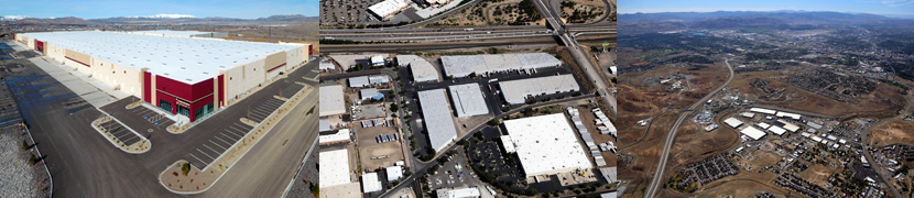 Aerial Drone & Airplane for Industrial Commercial Real Estate CRE