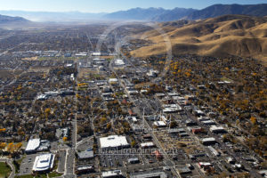 From The Air Downtown Carson City, NV