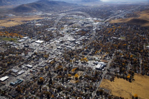 Excellent View of Downtown Carson City, NV