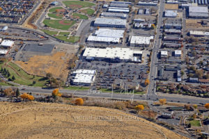 Retail Shopping Aerial View Carson City, NV