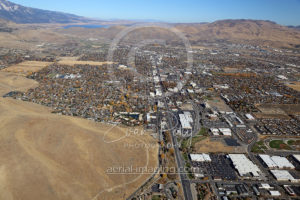 Carson City Aerial Looking North