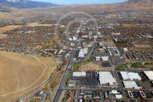 Downtown Aerial View Nevada Capital