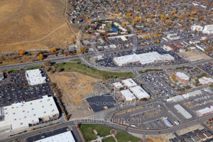 Commercial Retailer Aerial View Carson City, NV