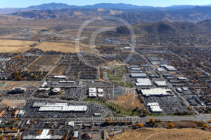 Aerial View Carson City Retailers
