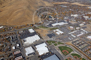 Carson City Nevada Day Parade Aerial View