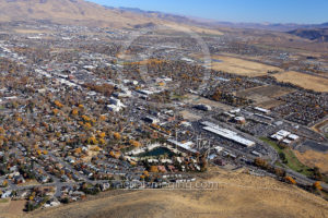 Carson City Aerial Photography View