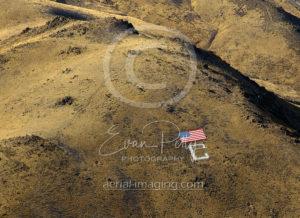 Carson City C Wide View Flag