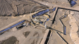 Mining Operation Aerial Photographer Nevada