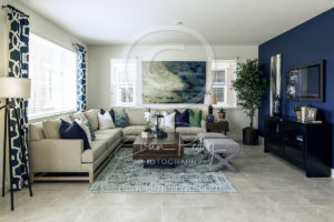 Living Room Photographer Home Builder Nevada