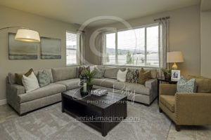 Living Room Photographer Home Builder Reno