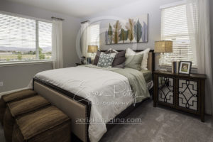 Interior Bedroom House Photographer Nevada