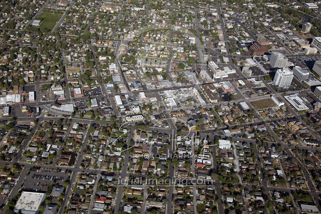 New Aerial Views of Downtown Reno 2017