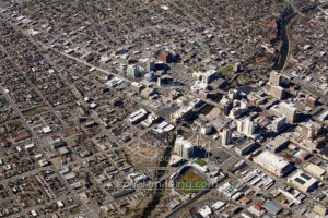 Downtown Reno and MidTown Aerial 2017