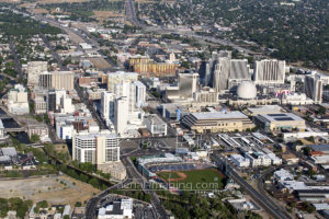 Reno Downtown Aerial Shot