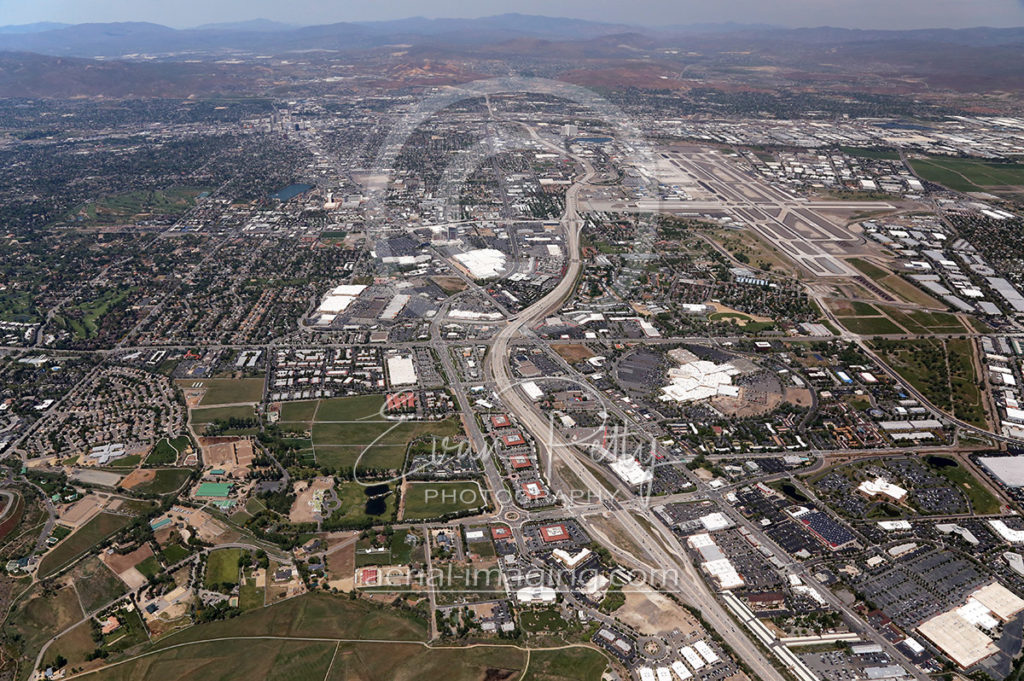 2017 Aerial Image of Reno, Nevada Shot