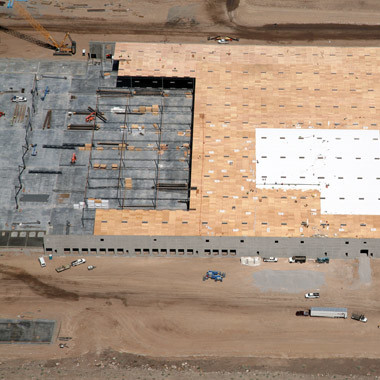 Construction Aerial Photo