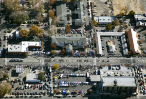 Carson City Aerial View Downtown Parade