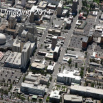 Reno Downtown 2014 Aerial Photo