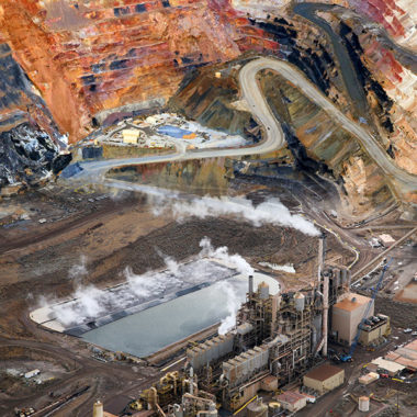 Mining Aerial Drone Photographer