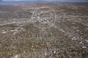 Wide View of Downtown Reno, NV from 2017