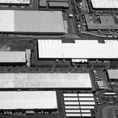 Commercial Warehouse Aerial