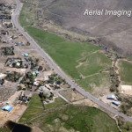 Farm Fields Aerial Photo Washoe