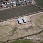 Hay Barn Aerial Photo Nevada