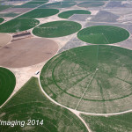 Circle Fields Aerial Photo