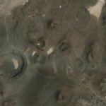 "What causes these shapes? Is this natural or caused by some kind of experiment?  Formed from lava? …or by Area 51 tests? Google Earth location :  38°23'0.47""N, 116° 4'9.11""W"