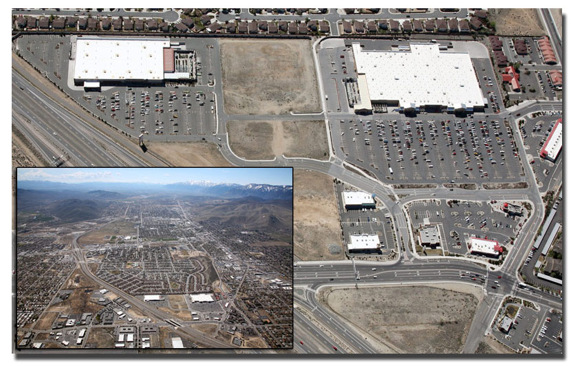 Aerial Photo Shots of Black Friday in Nevada