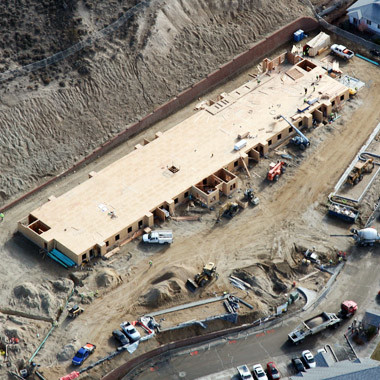 aerial photo construction