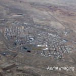 Aerial Photo Battle Mountain, Nevada